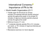 L3 - Concepts and Methods in PA Epidemiology
