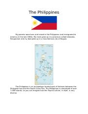 The Philippines.docx