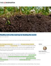 (Healthy soil is the real key to feeding the world.pdf
