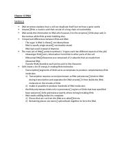 science study guide--Chapter 13 RNA