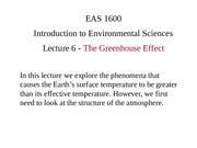 Lecture6_GreenhouseEffect