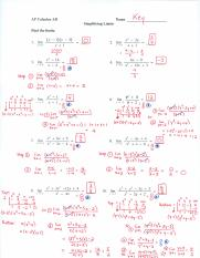 AP Calc AB - Solutions to Simplifying Limits WS (2016).pdf