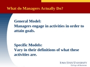 MGMT 370 -  Lecture 01 what mgrs do