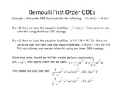 Lesson 6a - Bernoulli Differential Equations