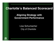 City of Charlotte Balanced Scorecard