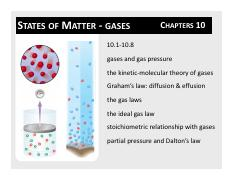 CH10_gases-student pdf - STATES OF MATTER GASES CHAPTERS 10