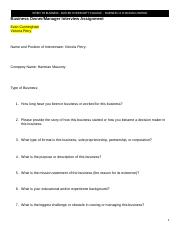 Business Owner-Manager Interview Assignment-1.docx