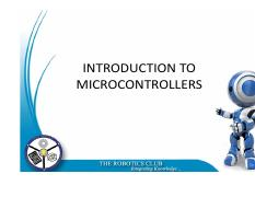 INTRODUCTION_TO_MICROCONTROLLERS