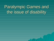 Paralympics Student Version(1)