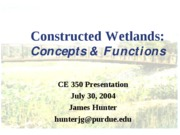Constructed Wetlands_CE350