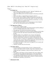 Textbook Notes - Chapter 1