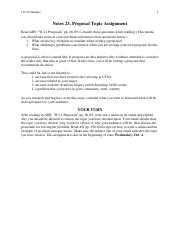 Notes 23, Proposal Topic Assignment.pdf