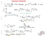 Math 104 Improper Integrals