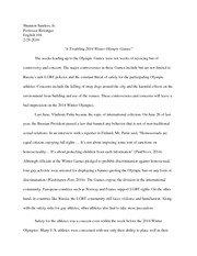 1st Essay english 104