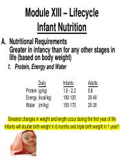 Chapter 13 -  Lifecyle  - Infant Nutrition(1).pdf