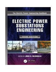 Electric Power Substations Engineering, Third Edition.pdf