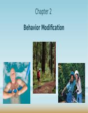 Chapter 2 - Behavior Modification 2016 13th Edition.pptx