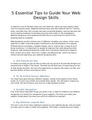 5 Essential Tips to Guide Your Web Design Skills.docx