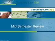 CL266_Mid Semester Review