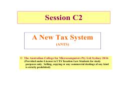 C1 Session ANTS GST UTS 8August2016 1slideperpage