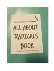 All about radicals