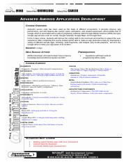 [xxxx] Syllabus - Android Advanced 060120 Rev AriH.doc