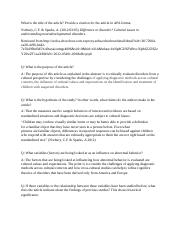 apa literature review template
