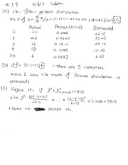 Homework 3 Solutions math 494