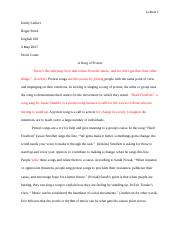 Essay 2 Music and Social Change  Asong of protest (2).docx