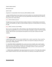 Ch. 7 Assignment 7.2 Interpretation of the Americans with Disabilities Act (ADA).docx