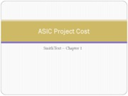 Lecture 2 - ASIC Cost