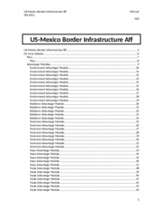 US-Mexico Border Infrastructure Aff-NSS-SDI2013 Paper.docx