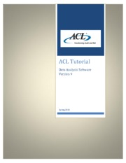 1-ACL- Tutorial _ Fall_2013