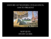 Maps Study Guide