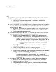 BSC2010 exam 2 study guide.docx