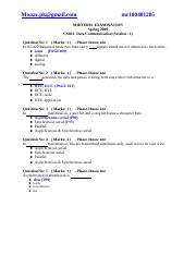 CS601-midterm2009 solved paper with references by moaaz(6th)