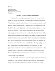 ENGL110 Research Paper