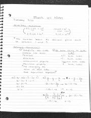 Class notes 9-20