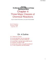 Chapter 04 - reaction types