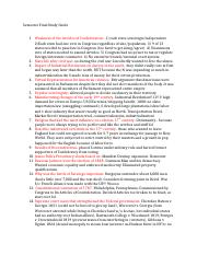 unit two study guide fall 2014 This can be used to study for final exams or other standardized tests final exam review guide overview: what metric system unit would be used to measure.