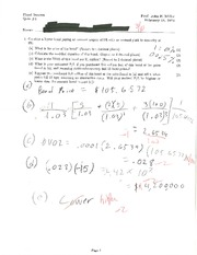 FIN 340 Annual Coupon QUIZ 4