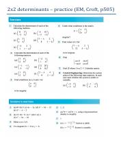 determinants exercise + answers.pdf