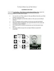 The Wayne Williams Case and Fiber Evidence questions