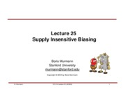 Lecture 25-Supply Insensitive Biasing