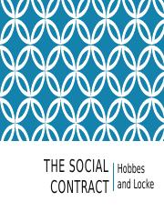 Lecture 4 - Hobbes and Locke's Social Contracts.pptx