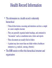 Lecture_4_Health Record Information