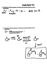 Problem Sets Ch. 13,14: Conjugated Unsaturated Systems, UV-Vis Spectroscopy, and Aromatic Compounds