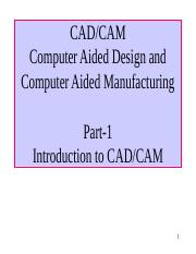 CAD.CAM and categories