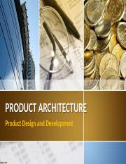 PDD  Product Architecture.pptx