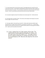 Word Problems Law of Sines Glencoe 2001
